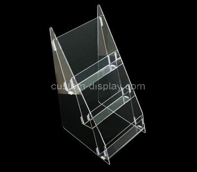 clear acrylic leaflet holder