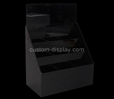 black acrylic leaflet holder