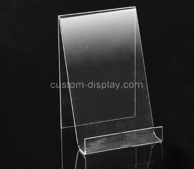 acrylic freestanding literature rack