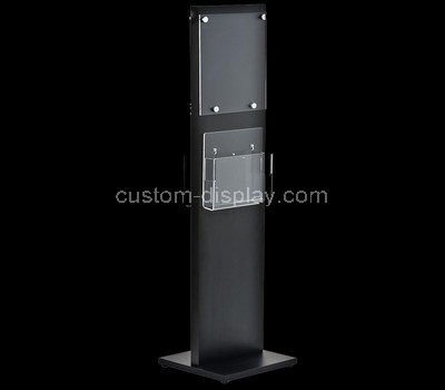brochure holder floor stand