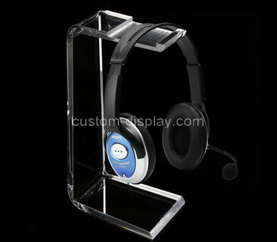 acrylic headphone display rack