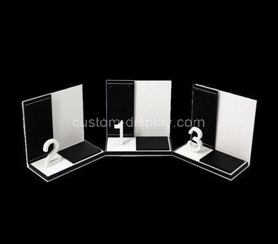 acrylic display stand design