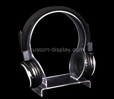 plexiglass headphone display stand