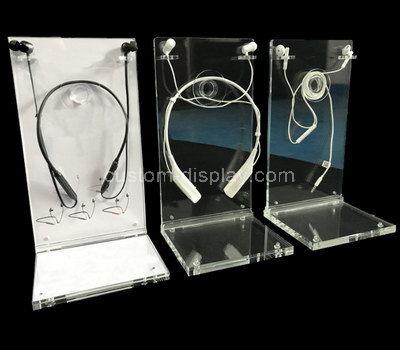 perspex headphone display stand