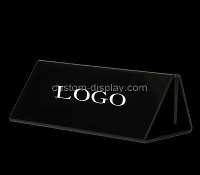 plexiglass sign