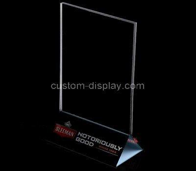 3x5 acrylic sign holders