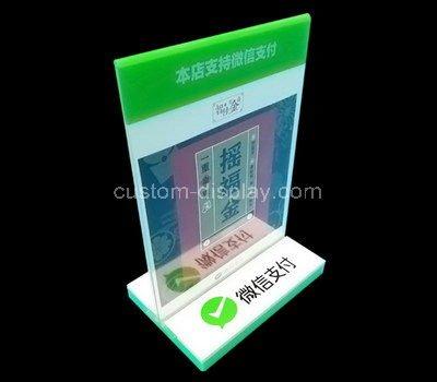 11x14 acrylic sign holder