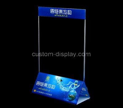 8 x 11 acrylic sign holder