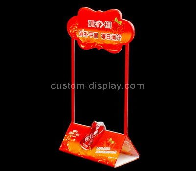 retail acrylic sign holders