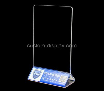 table top acrylic sign holders