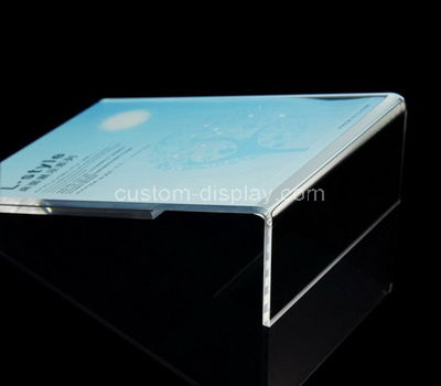 8.5 x 11 acrylic sign holder for table tops