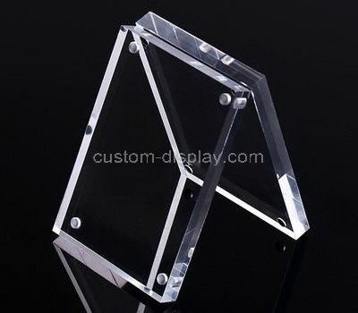 clear plexiglass sign