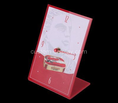 table top 11x17 acrylic sign holder