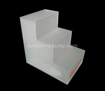 acrylic tiered display risers