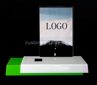 perspex shop counter display stand