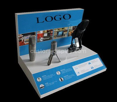 lucite display stand