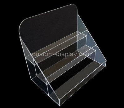 clear acrylic tiered display