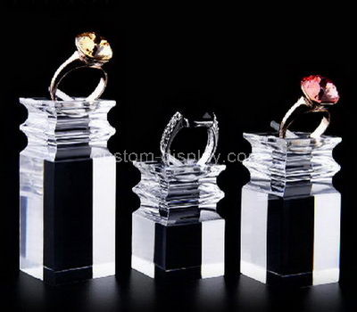 plexiglass ring display stand