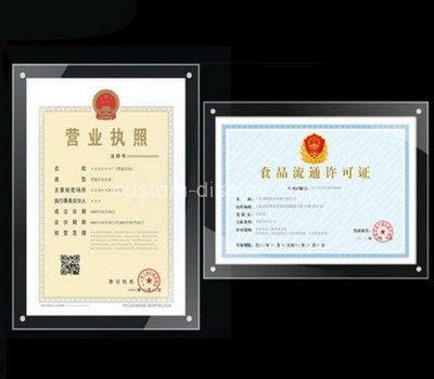 a3 certificate frame