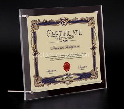 certificate holder frame