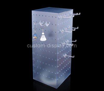 plexiglass display rack for hanging items
