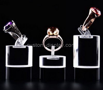 acrylic small ring holder