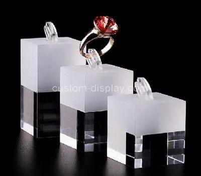 lucite ring display holder