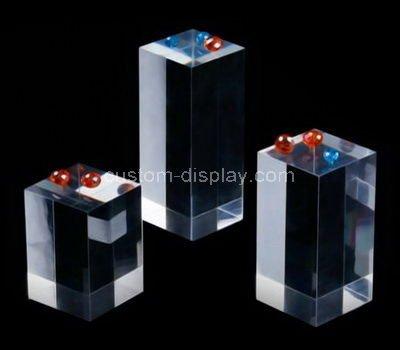 perspex display block