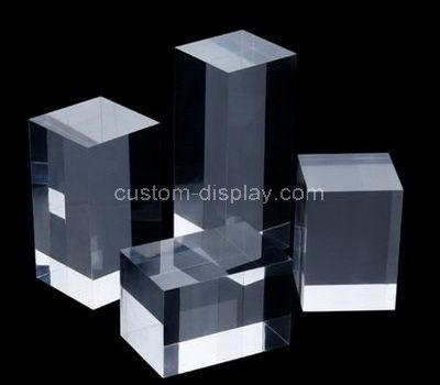 plexiglass display block