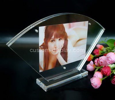 acrylic clear photo frame