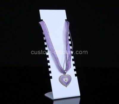 acrylic jewelry necklace display