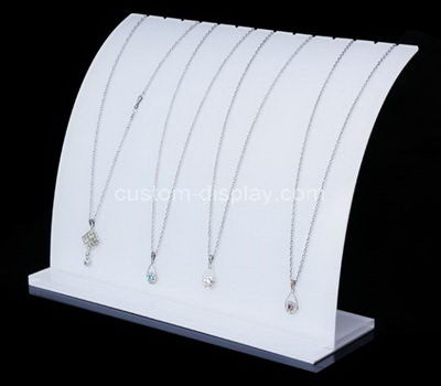 acrylic multiple necklace display stand
