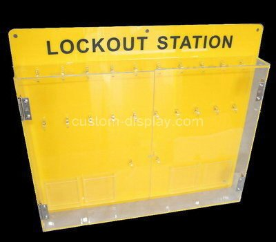 acrylic lockout station