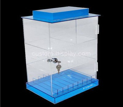 locking display cabinet