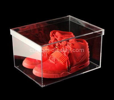 shoe storage box with lid