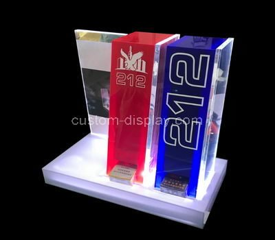 plexiglass product rack display