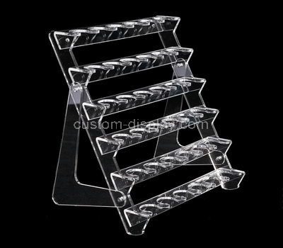 acrylic display rack shelf