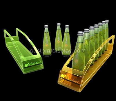 acrylic unique wine bottle holder