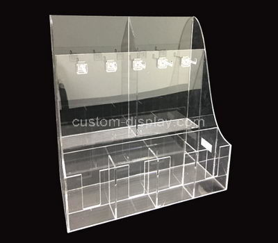 perspex product display rack