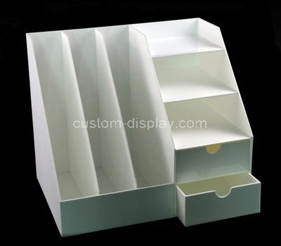 retail acrylic tiered display shelves