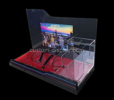 lucite display units for retail stores