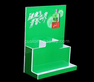 perspex free standing retail display