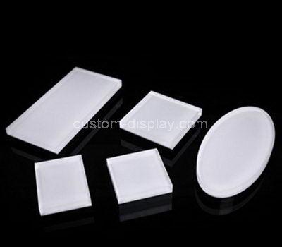 acrylic solid block