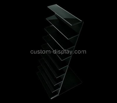 perspex tiered display rack