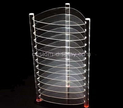 plexiglass tiered display rack