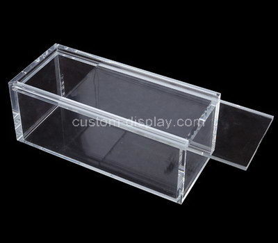 clear storage boxes with lids
