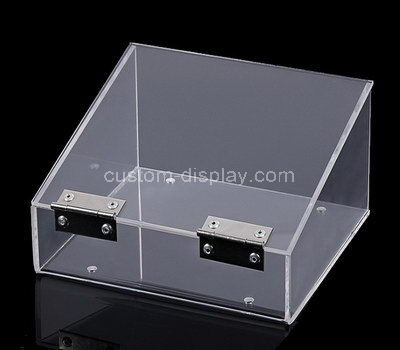 clear plastic display case