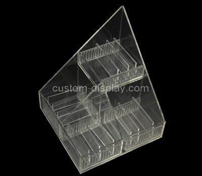 lucite compartment organizer box