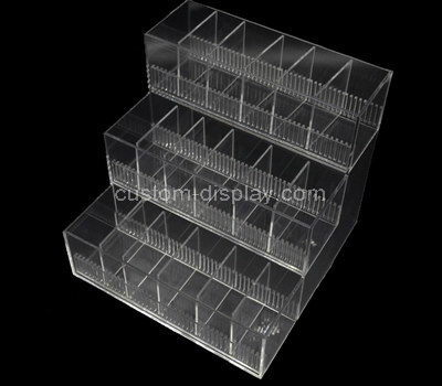 lucite multi compartment storage box