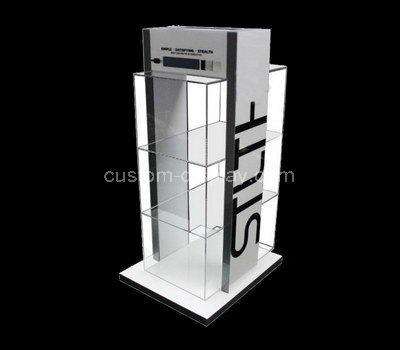 perspex modern display cabinet
